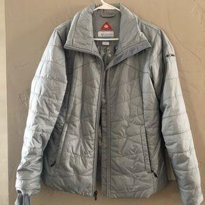 Columbia Omni-Heat Gray Jacket Womens Medium